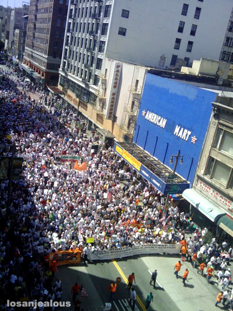 27 March 2010: Immigration Marches Are Back En Vogue In Los Angeles
