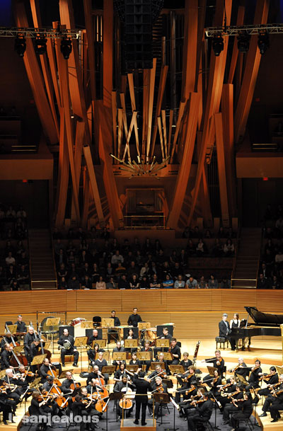 Los Angeles Philharmonic, Walt Disney Concert Hall, February 27, 2010