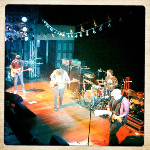Pavement, Auckland NZ, March 1, First Reunion Show–Setlist & Photo