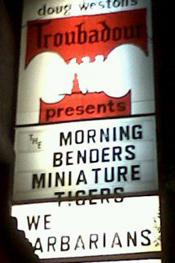 The Morning Benders Impress At First Headlining Troubadour Show