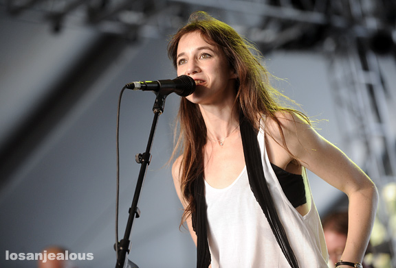 2010 Coachella Festival Photo Gallery: Charlotte Gainsbourg