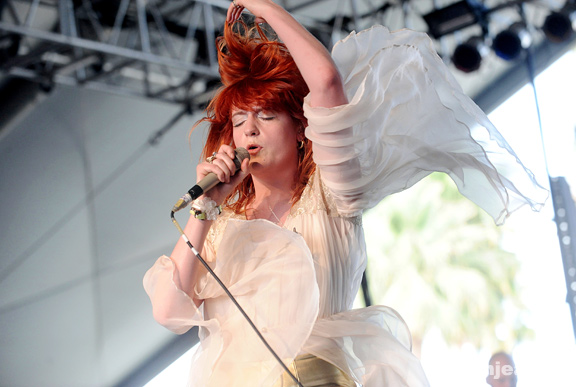 2010 Coachella Festival Photo Gallery: Florence and the Machine