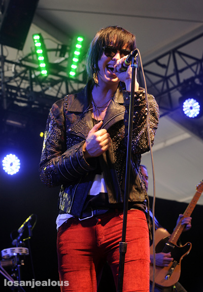 2010 Coachella Festival Photo Gallery: Julian Casablancas