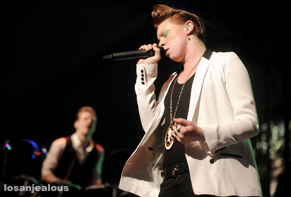 2010 Coachella Festival Photo Gallery: La Roux