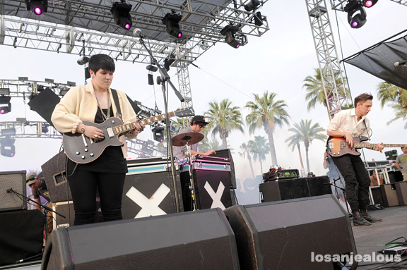 2010 Coachella Festival Photo Gallery: The xx