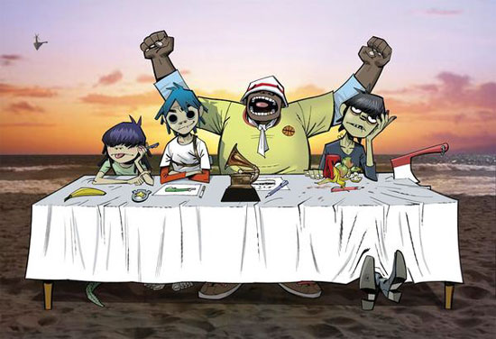 "Gorillaz ""Dress Rehearsal""–Secret Los Angeles Show This Friday, April 16–Win Tickets"