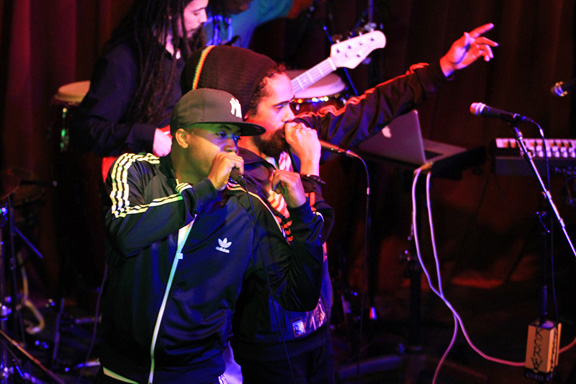 Nas & Damian Marley, Apogee Berkeley Street Studios, May 27, 2010 (Private KCRW Event)