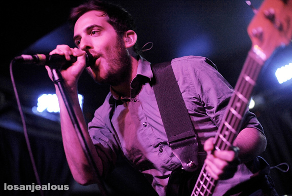 Delphic, The Echo, June 18, 2010
