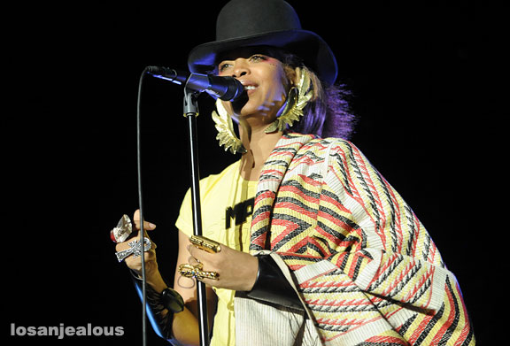 Erykah Badu, Greek Theater, June 20, 2010