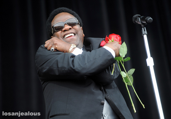 Al Green, Outside Lands Festival 2010, Sunday, August 15