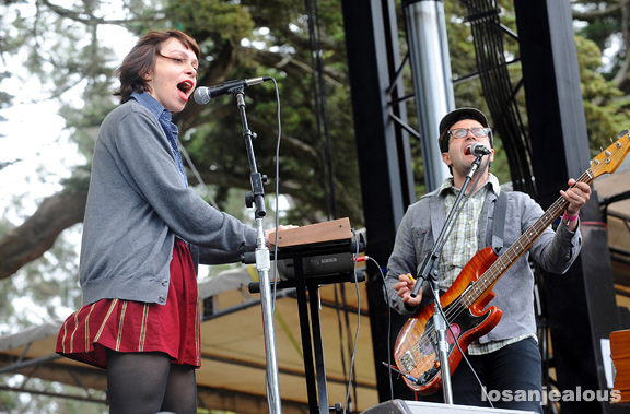 Freelance Whales, Outside Lands Festival 2010, Saturday, August 14