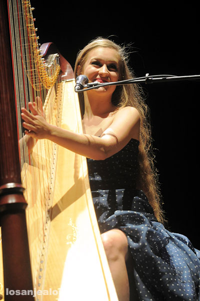 Joanna Newsom @ Orpheum Theater, July 31, 2010