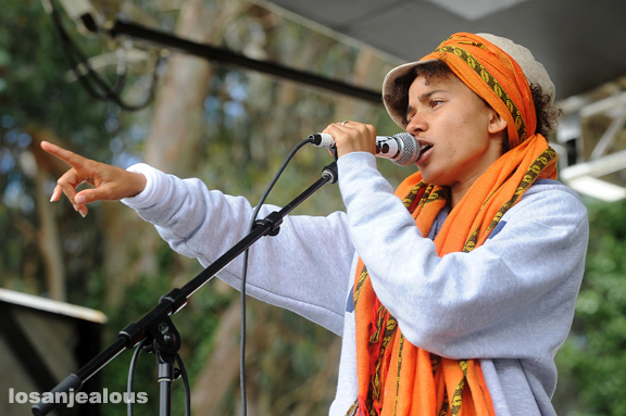 Nneka, Outside Lands Festival 2010, Sunday, August 15