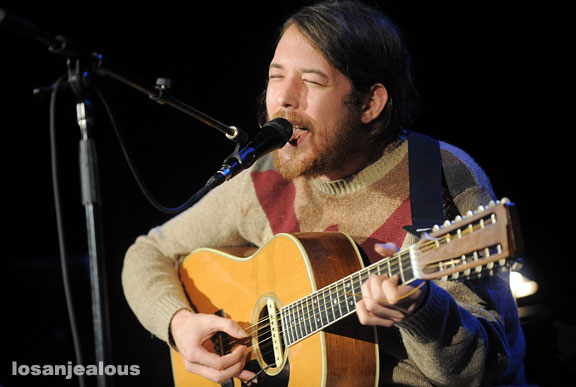 Robin Pecknold of Fleet Foxes @ Orpheum Theater, July 31, 2010