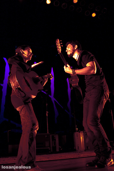 Rodrigo y Gabriela, Greek Theater, August 18, 2010