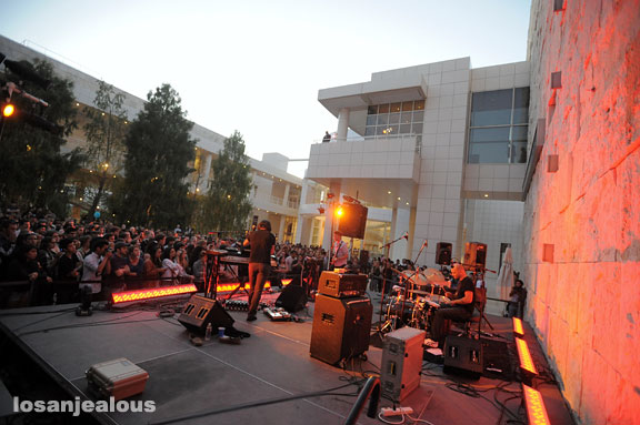 Photos: The Antlers, Saturdays Off the 405 at The Getty, August, 28, 2010