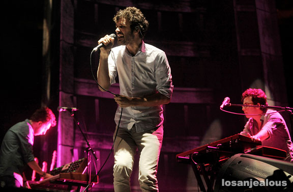 Photos: Passion Pit @ Staples Center, September 25, 2010