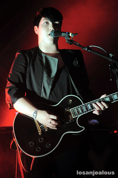 Photos: The xx, Hollywood Palladium, September 22, 2010