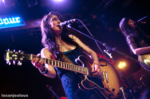 Photos: Azure Ray at Troubadour, October 22, 2010