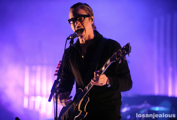 Photos: Interpol @ Greek Theater, October 23, 2010