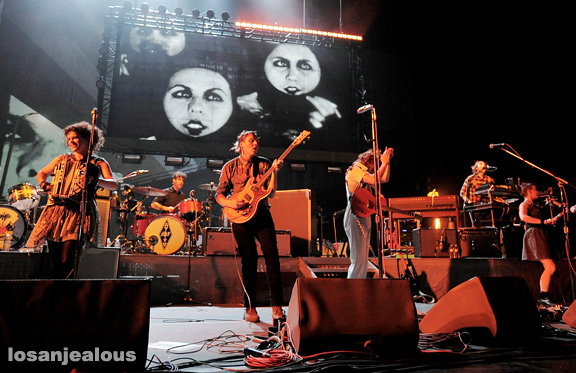 Photos: Arcade Fire, Shrine Auditorium, October 8, 2010