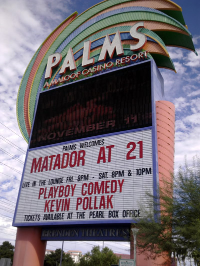 Matador at 21 at the Pearl at the Palms at Las Vegas