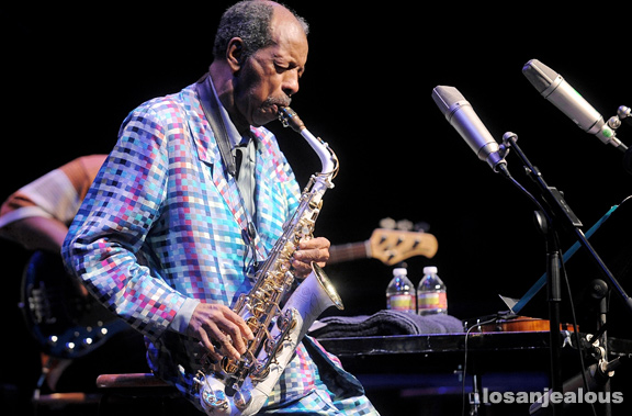 Photos: Ornette Coleman at UCLA Royce Hall, November 3, 2010