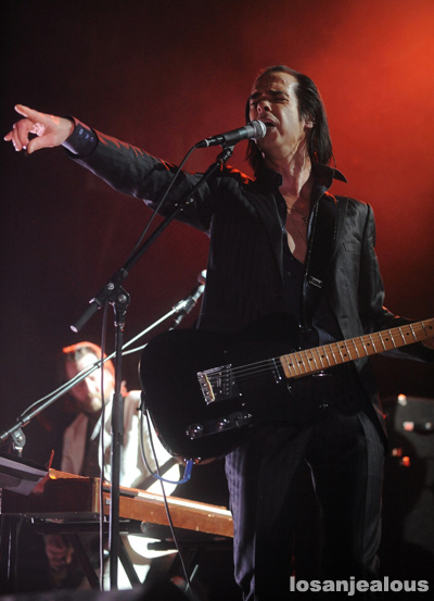 Photos: Grinderman @ Music Box, November 30, 2010