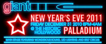 Giant New Year's Eve 2011 @ Hollywood Palladium with ATB and Gabriel & Dresden–Win Tickets