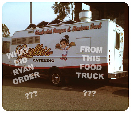Giselle's: What Did Ryan Order From This Food Truck?