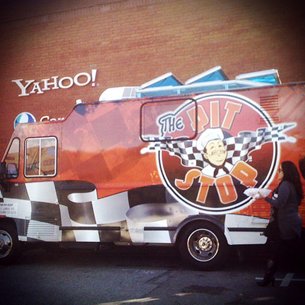 The Pit Stop: What Did Ryan Order From This Food Truck???
