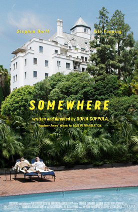 Sofia Coppola's Chateau Marmont-set Somewhere Out Wednesday--Snag Some Associated Swag