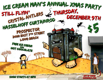 To Do Thursday: Ice Cream Man Annual Xmas Party (Long Beach)