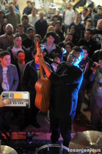 Photos: The Dears, Fingerprints, Long Beach, March 12, 2011