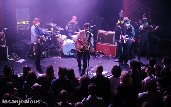 Photos: British Sea Power @ Troubadour, April 7, 2011