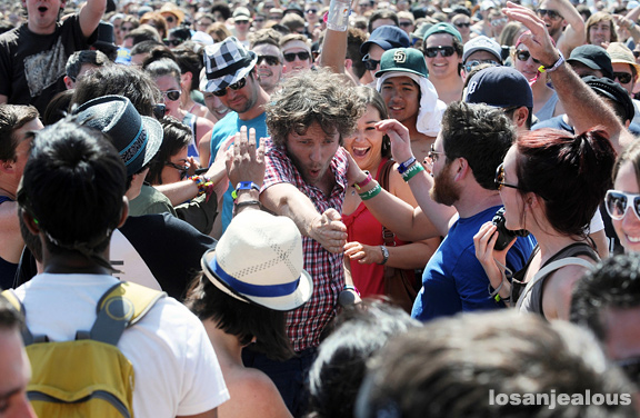 2011 Coachella Festival Photo Gallery: !!! (Chk Chk Chk)