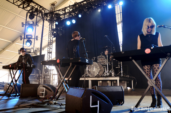 2011 Coachella Festival Photo Gallery: Cold Cave