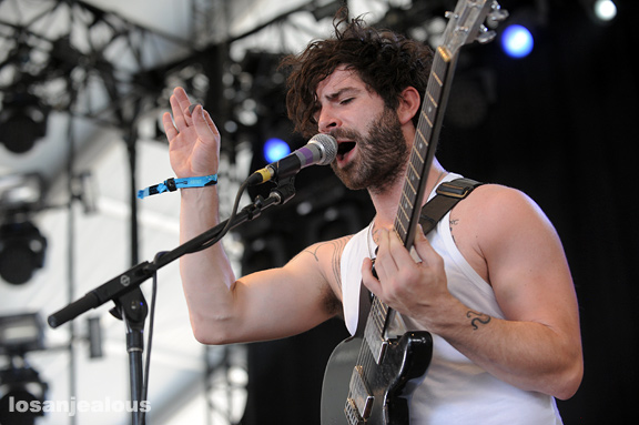 2011 Coachella Festival Photo Gallery: Foals