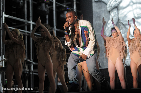 2011 Coachella Festival Photo Gallery: Kanye West