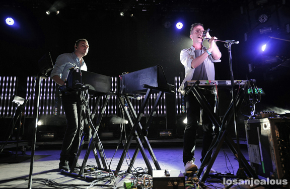 2011 Coachella Festival Photo Gallery: The Presets