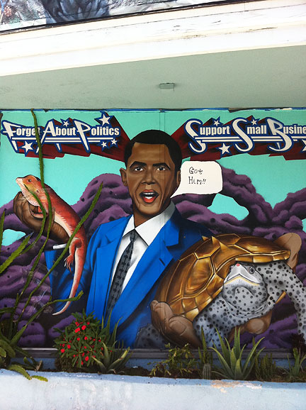 And Now, A Timely Pico Boulevard Mural Update