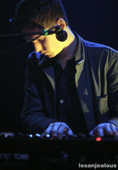 James Blake @ Troubadour, May 23, 2011