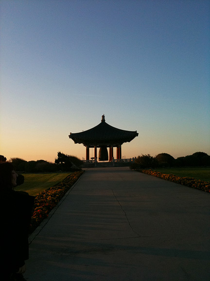 iPhotograph My Life: Ep. 1: San Pedro Korean Bell, Dawn, 2009