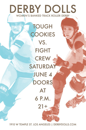 ¡Free DF!  An LADD preview (Tough Cookies v. Fight Crew, 6/4/2011)