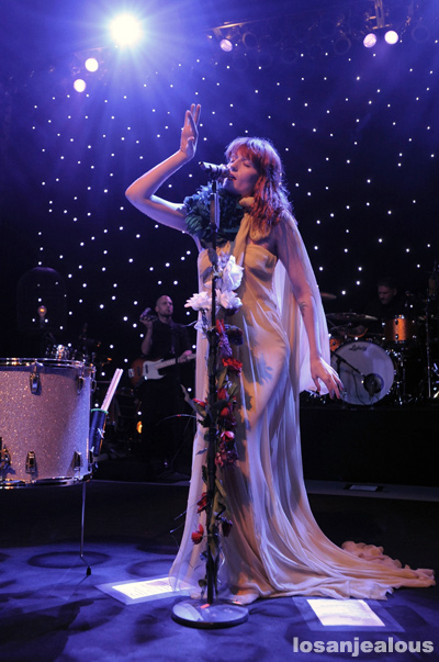 Florence and The Machine @ The Greek Theatre, June 13, 2011