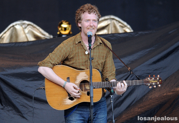 Photos: Glen Hansard @ Santa Barbara Bowl, July 9, 2011