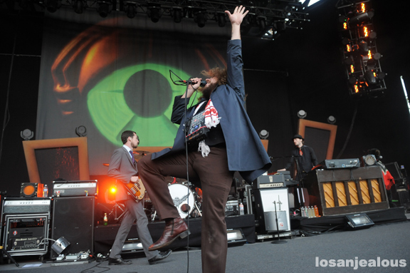 Photos: My Morning Jacket @ Santa Barbara Bowl, July 2, 2011