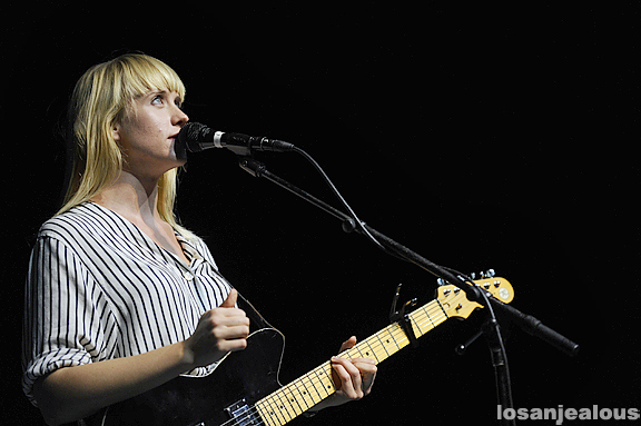 Wye Oak @ The Greek Theatre, August 12, 2011