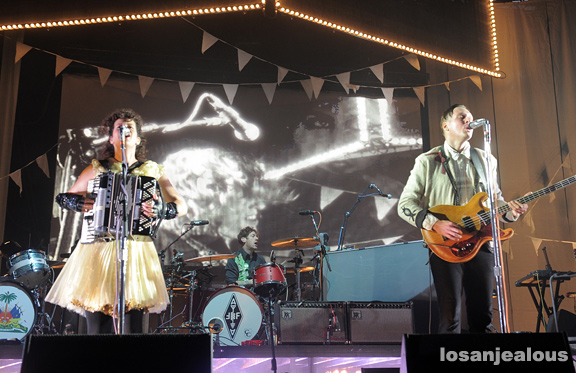 Photos: Arcade Fire @ 2011 Outside Lands Festival