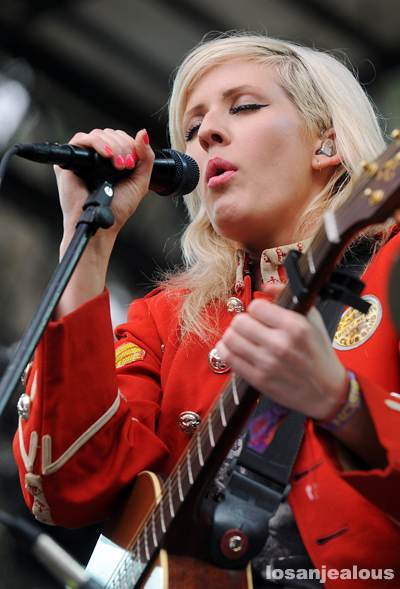 Photos: Ellie Goulding @ 2011 Outside Lands Festival